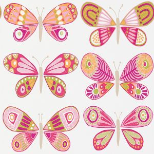 Tapete MADAME BUTTERFLY pink