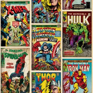 Tapete MARVEL ACTION HEROES