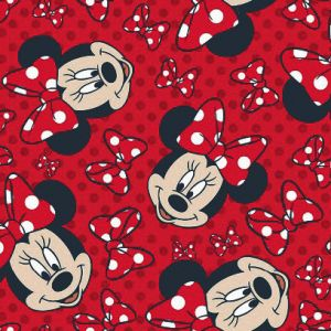 Tapete MINNIE RED BOW