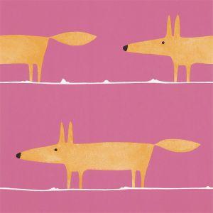 Tapete MR FOX orange-pink