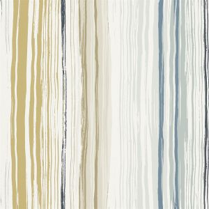 Tapete ZING ocker-beige-blau