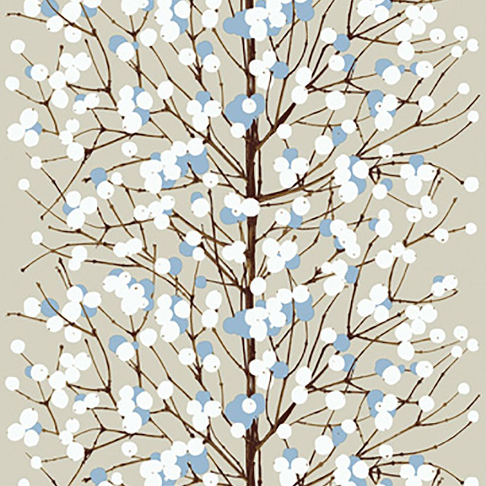 Tapete LUMIMARJA Beige-blau Von Marimekko
