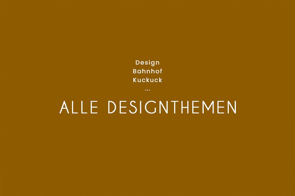 Unsere Uhren-Designthemen